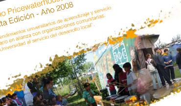 Premio PricewaterhouseCoopers a la Educación Quinta Edición - 2008