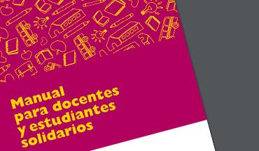 Manual para docentes y estudiantes solidarios. Edición Argentina